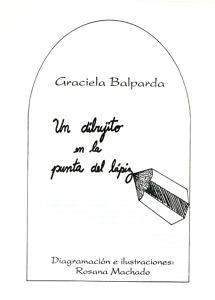Un dibujito en la punta del lápiz